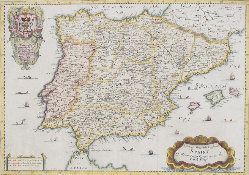 RICHARD BLOME (inv) y FRANCIS LAMB (sculp)Mapa general del