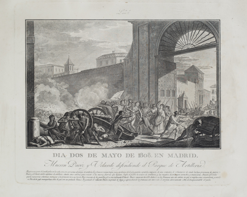 TOMÁS LÓPEZ ENGUÍDANOS (1773-1814)El Dos de Mayo de 1808 e