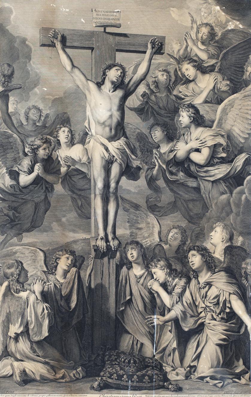 GÉRARD EDELINCK (1640-1707) SEGÚN CHARLES LE BRUN (1619-169