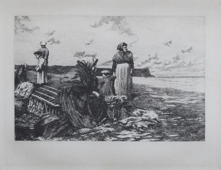 TOMÁS CAMPUZANO (Santander, 1857 -  Becerril de la Sierra, 1