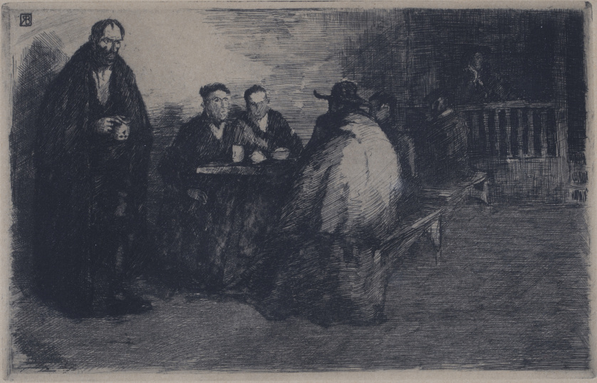 RICARDO BAROJA NESSI (Huelva, 1871-Navarra, 1953)Interior d