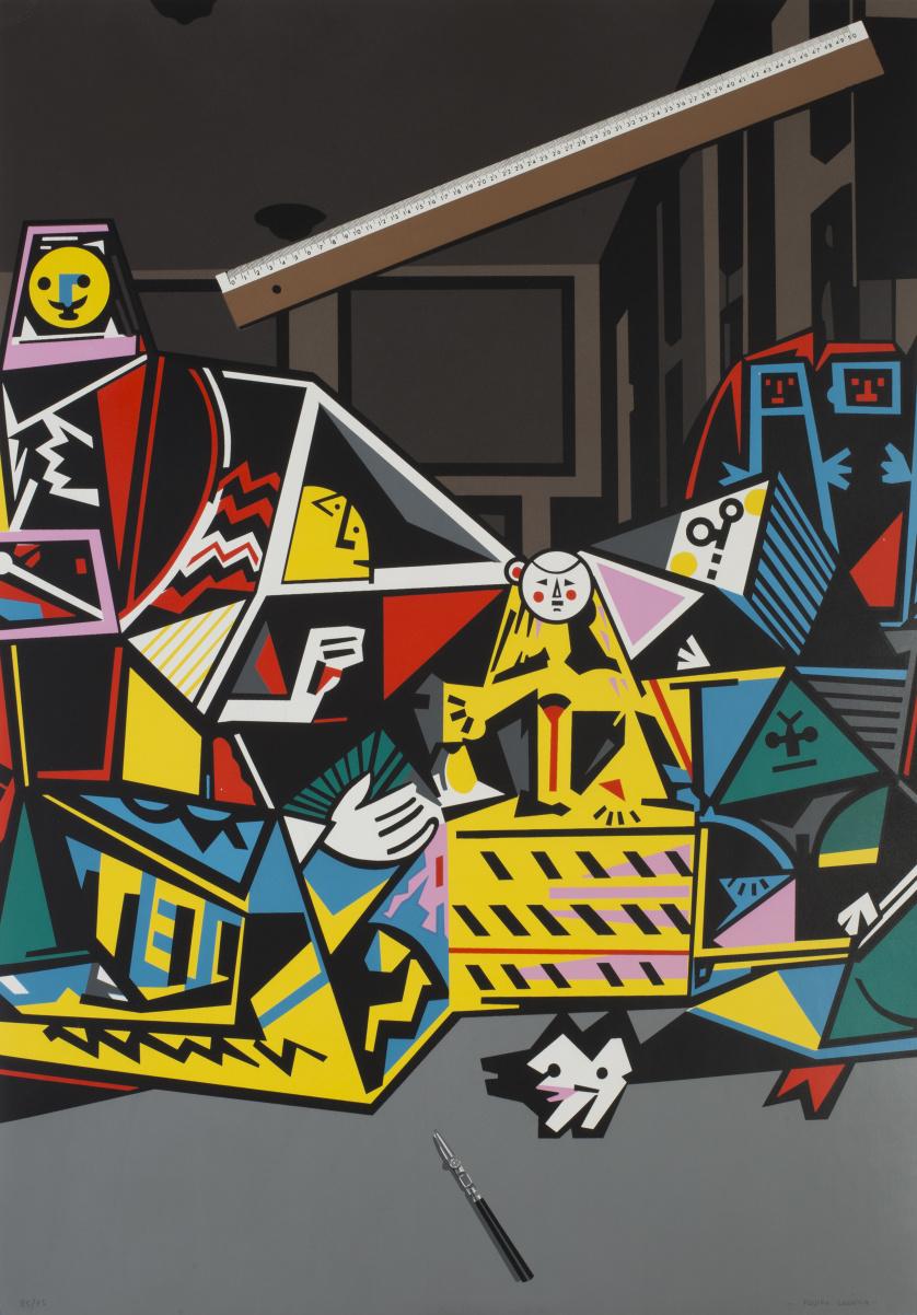 EQUIPO CRÓNICA (act.1964 - 1981)Interior con regla (Serie
