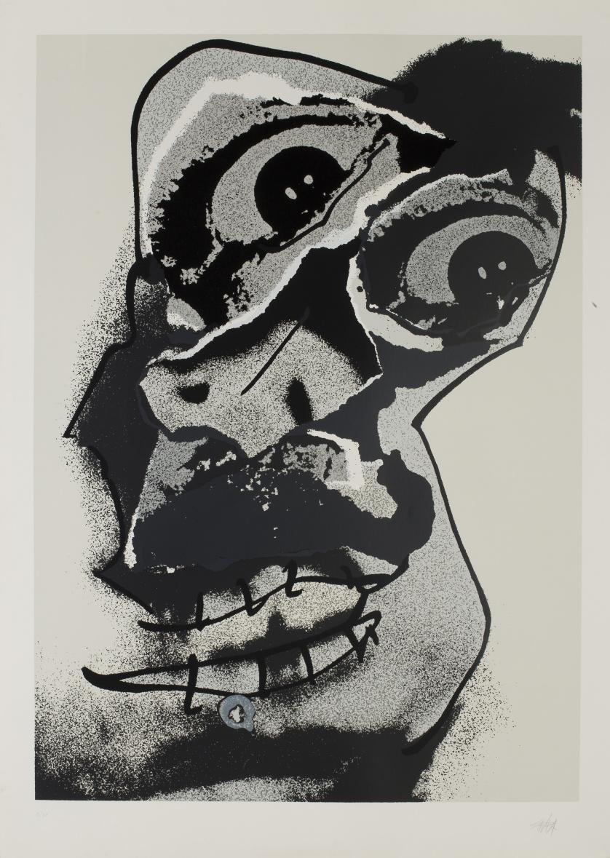 ANTONIO SAURA (Huesca, 1930 - Cuenca, 1998)Moi nº112, 1976