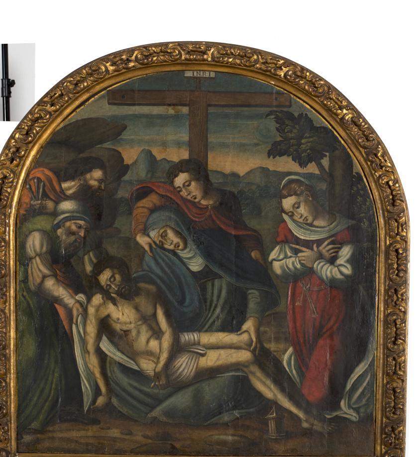 ESCUELA CASTELLANA, SIGLO XVIDescendimiento de la Cruz