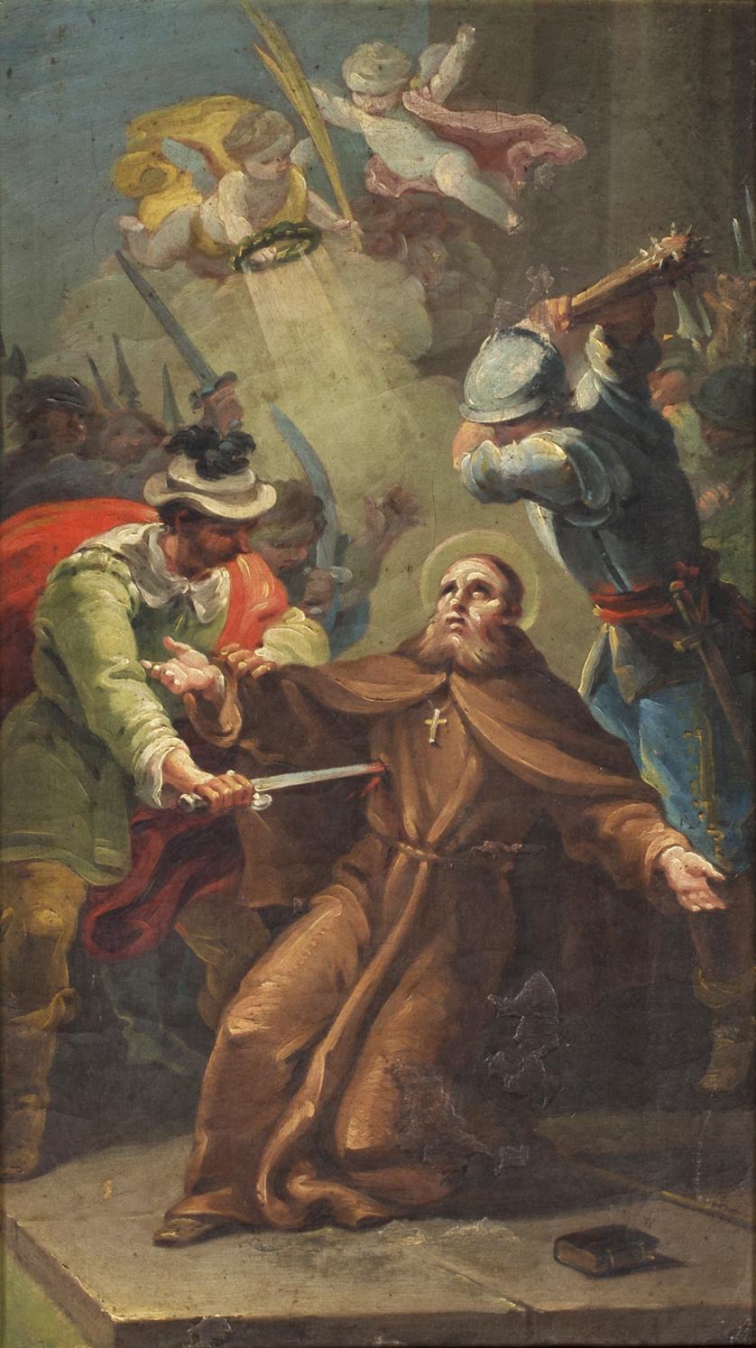 JOSÉ NAVARRO (1804-1884)Martirio de San Fidel de Sigmaringa