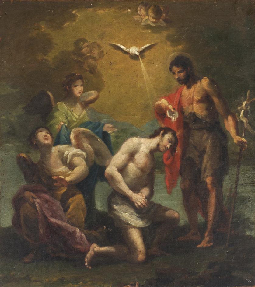 ESCUELA VALENCIANA, SIGLO XIXBautismo de Cristo
