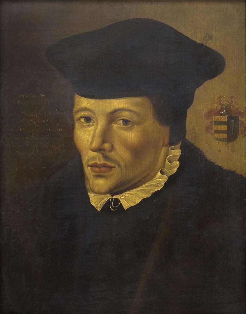 SEGUIDOR DE JAN VAN SCOREL (1495-1562)Retrato del pastor E