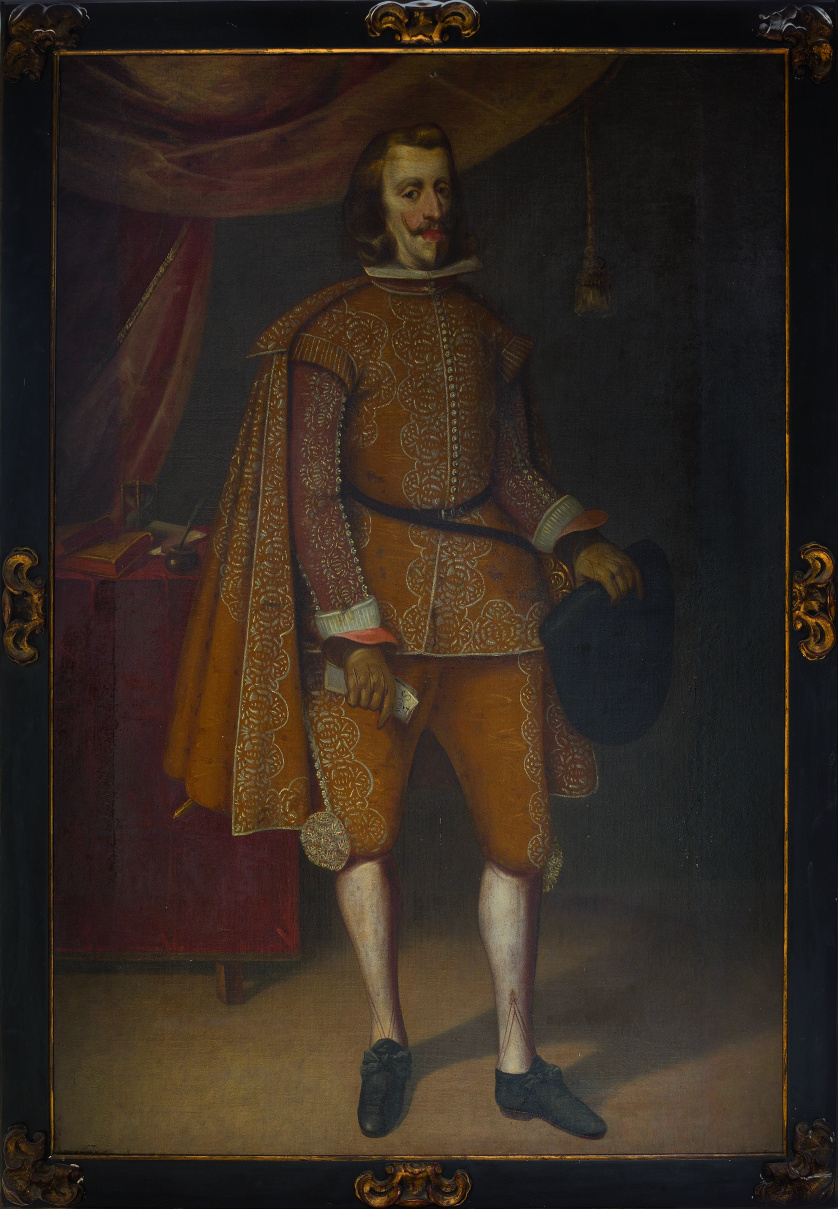 ESCUELA ESPAÑOLA, SIGLO XVIIRetrato de Felipe IV de cuerpo
