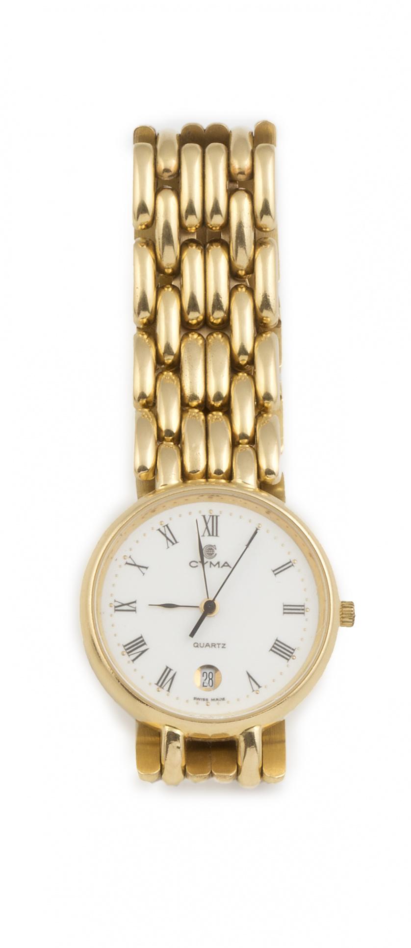 Reloj CYMA en oro amarillo de 18K
