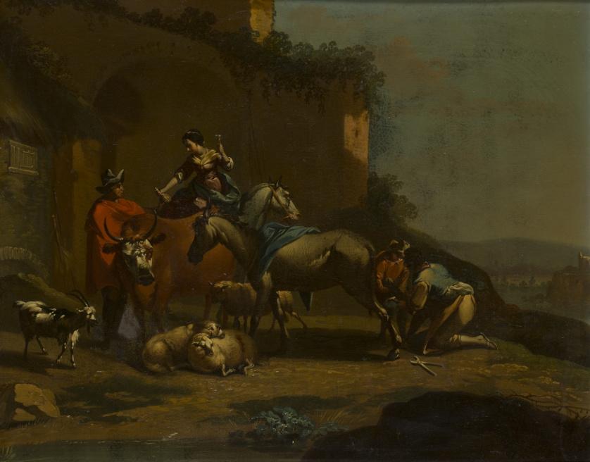 SEGUIDOR DE JAN VAN BIKE MIEL (Amberes, 1599 - Turín, 1664)