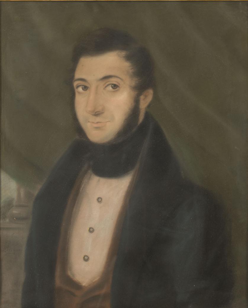 PERINOR (Pintor francés, activo en Nueva Orleans, cerca 182