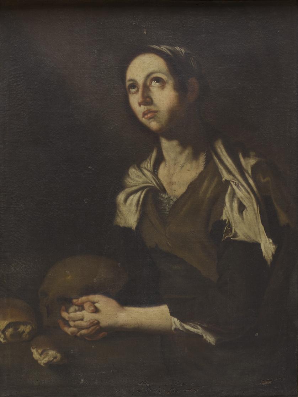 COPIA DE JOSÉ DE RIBERA (Escuela española, siglo XVII)Sant