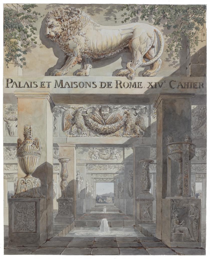 CHARLES PERCIER  (1764-1838), CHARLES PERCIER (1764-1838)
