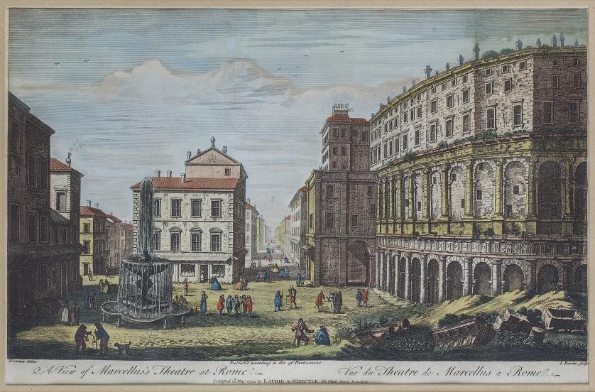GEORG BALTHASAR PROBST (1732-1801), Pareja de vistas óptica