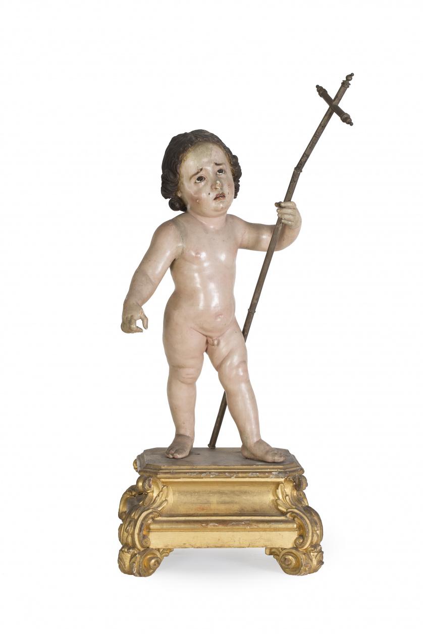 """Niño Jesús de la Pasión"" Escuela andaluza S. XVIII"