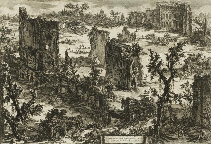 GIOVANNI BATTISTA PIRANESI (Mozano di Mestre, 1720 - Roma,