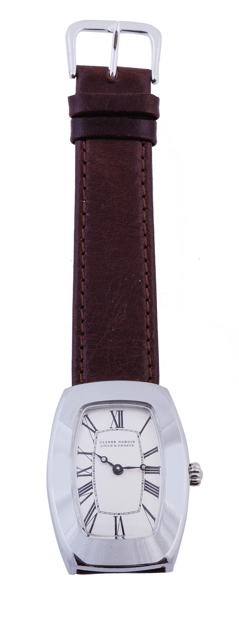 Reloj de pulsera ULYSSE NARDIN años 40 en acero