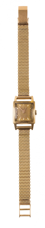 Reloj de pulsera para sra OMEGA en oro amarillo de 18K