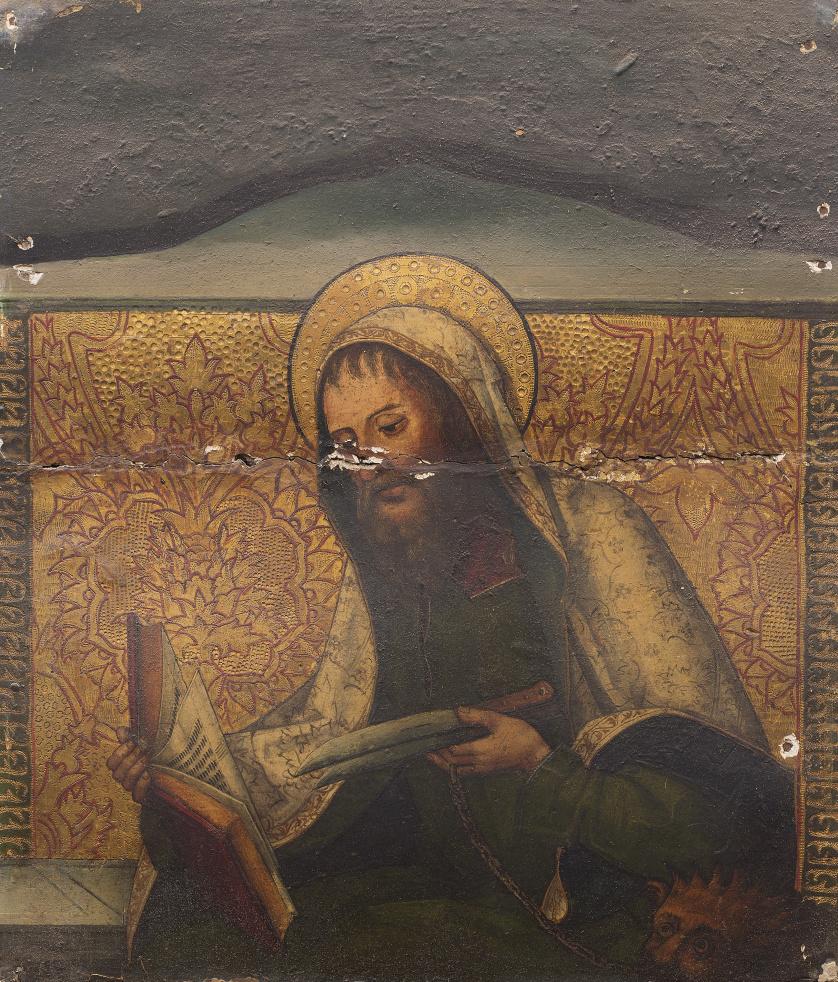 MAESTRO DEL PORTILLO (Pintor vallisoletano del primer cuart
