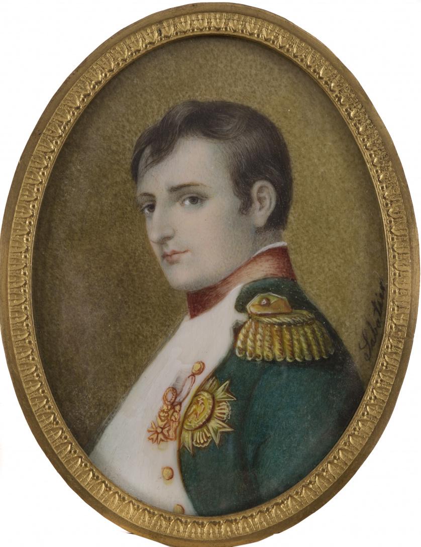 ESCUELA FRANCESA, SIGLO XIXRetrato de Napoleón