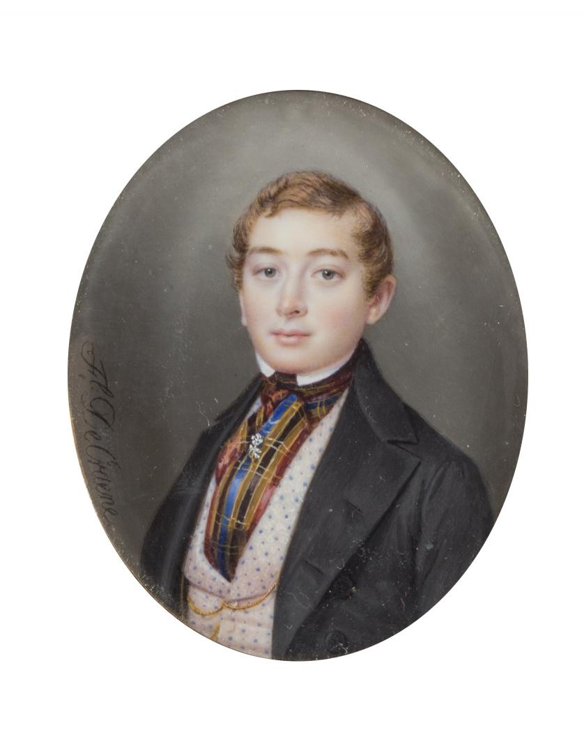 FLORENTINO DE CRAENE (1793-1854)Retrato de caballero