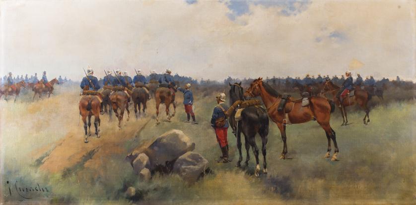 JOSEP CUSACHS Y CUSACHS (Montpellier 1851 - Barcelona 1908)