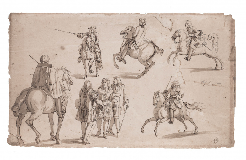 ESCUELA FRANCESA, H. 1677, ESCUELA FRANCESA, H. 1677Estud