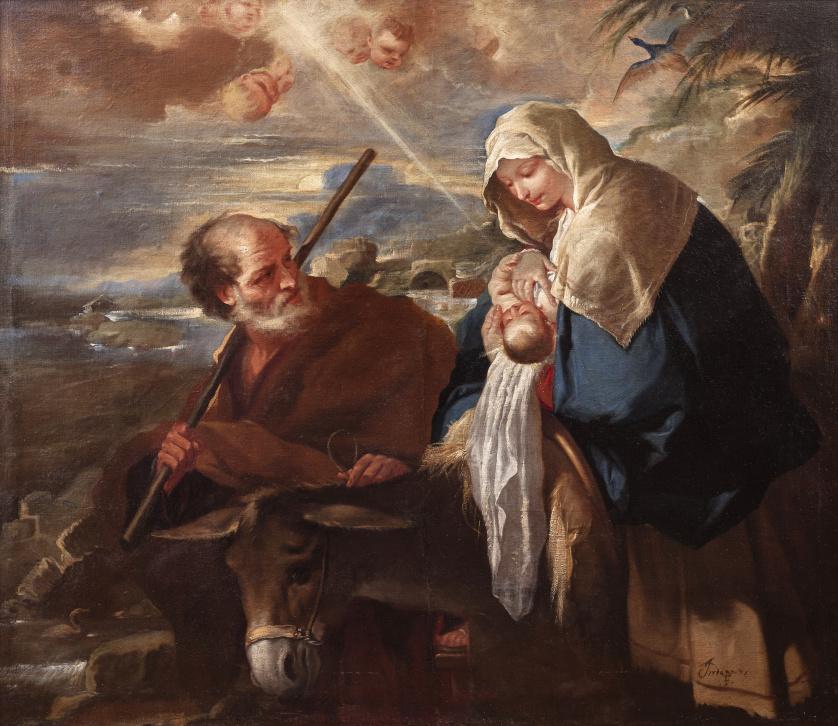 LUCA GIORDANO (Nápoles, 1632 - 1705), LUCA GIORDANO (Nápole