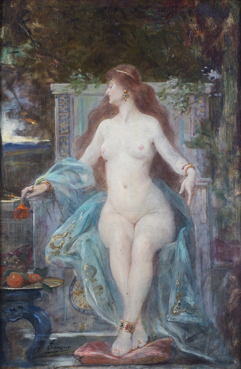 HENRI ADRIEN TANOUX (Marsella, 18 de octubre de 1865 - Parí