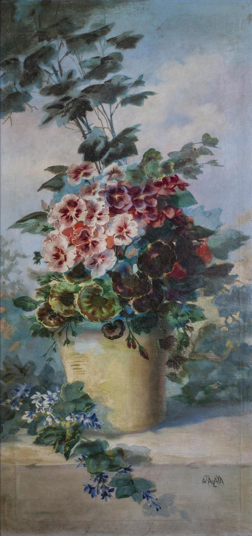 ENRIQUE ATALAYA (Murcia, 1851-1913), ENRIQUE ATALAYA (Murci