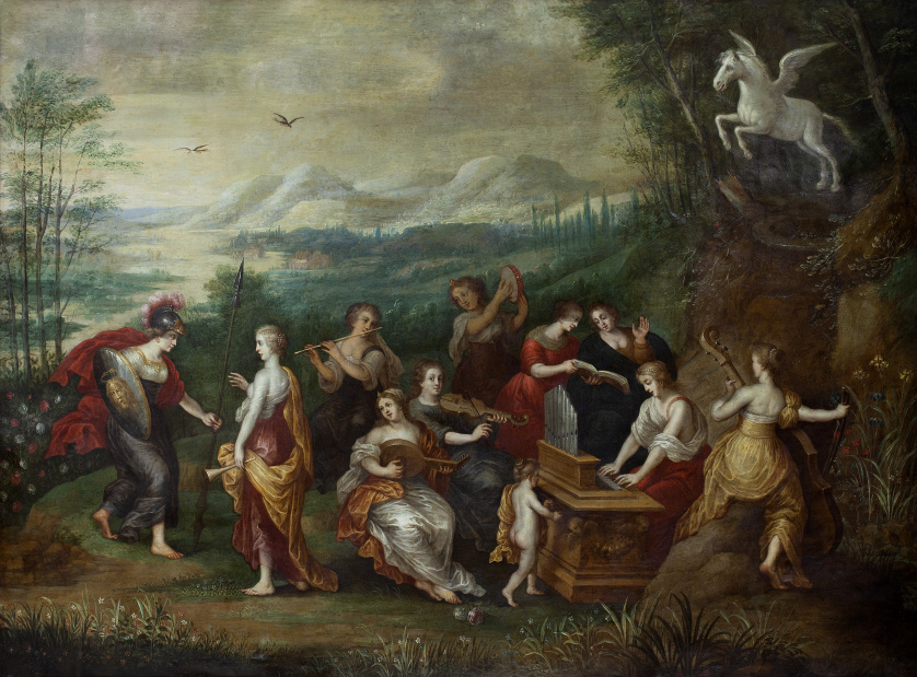 HENDRICK VAN BALEN (Amberes, ca. 1575-1632), HENDRICK VAN B