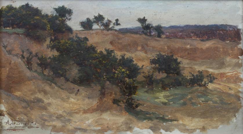 AURELIANO DE BERUETE  (Madrid, 1845-1912), AURELIANO DE BER