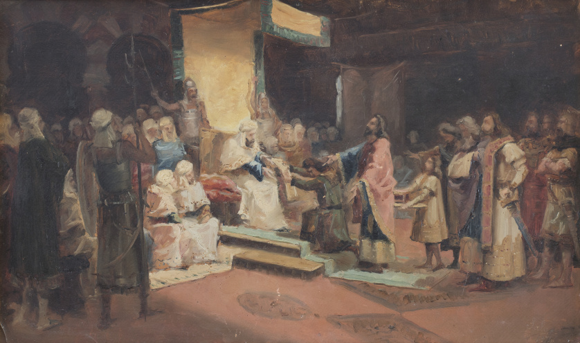 EMILIO SALA FRANCÉS (Alcoy, Alicante, 1850-Madrid, 1910), E