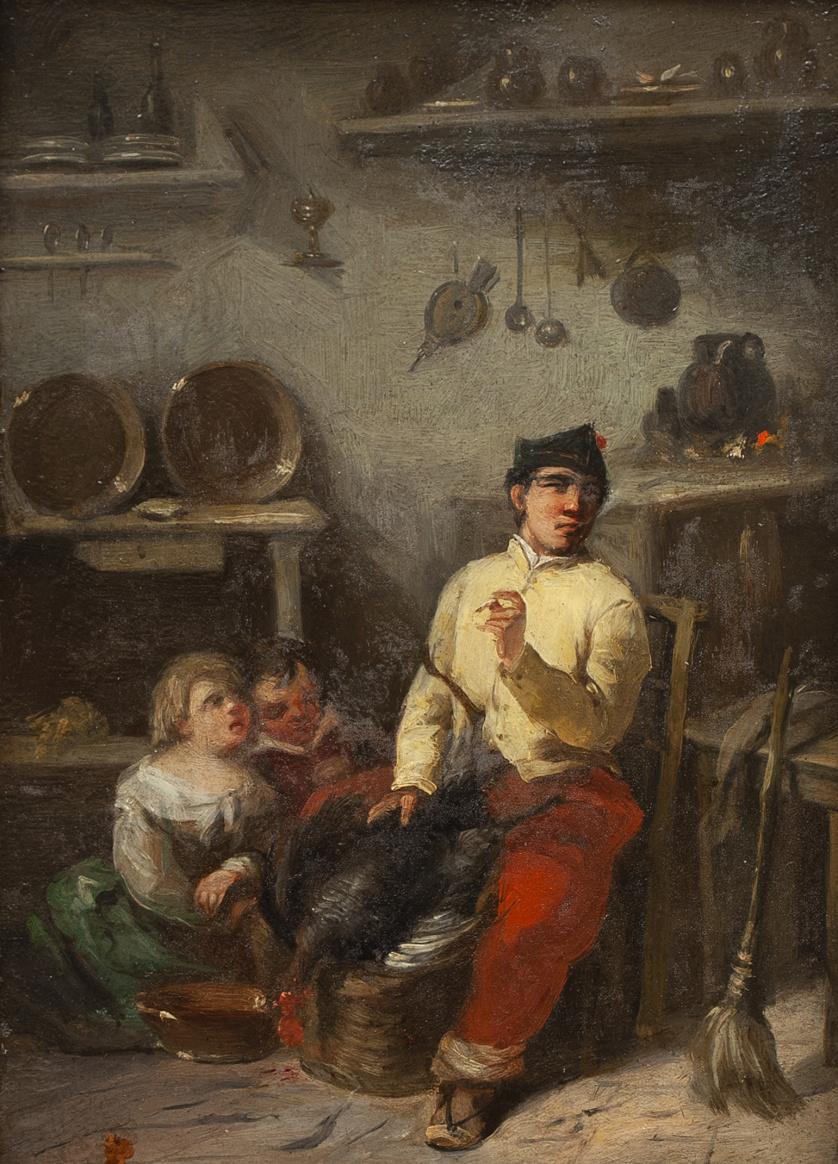 EUGENIO LUCAS VELÁZQUEZ (1817- 1870), EUGENIO LUCAS VELÁZQU