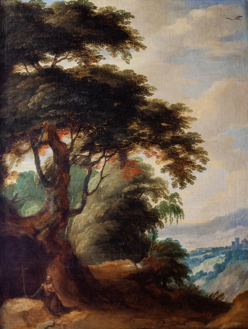 JOOS DE MOMPER (1564- 1635) Y JAN BRUHEGUEL (1568-1626), JO