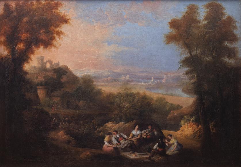 ATRIBUÍDO A ANDRÉS CORTÉS Y AGUILAR (1812- 1879), ATRIBUÍDO
