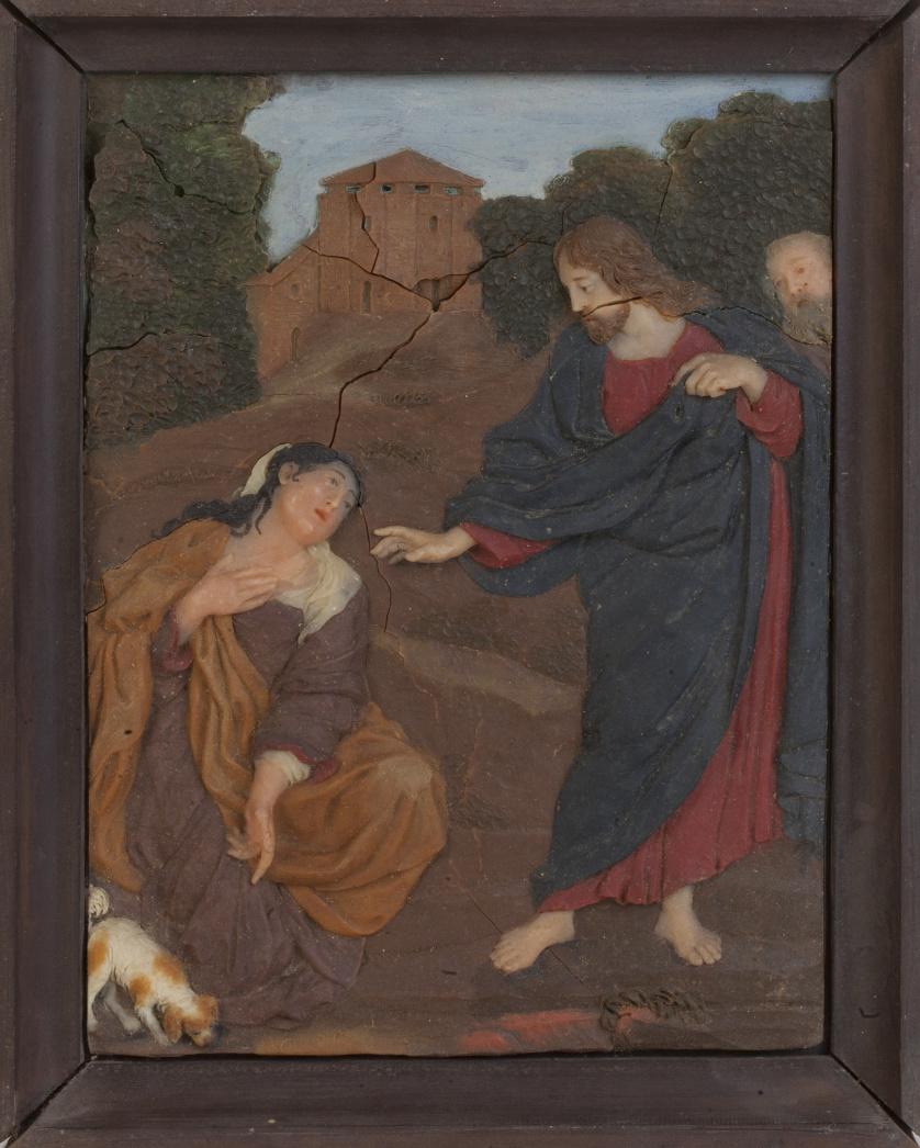 "Francesco Pieri (1699-1773)*.""La Cananea"", siguiendo comp"