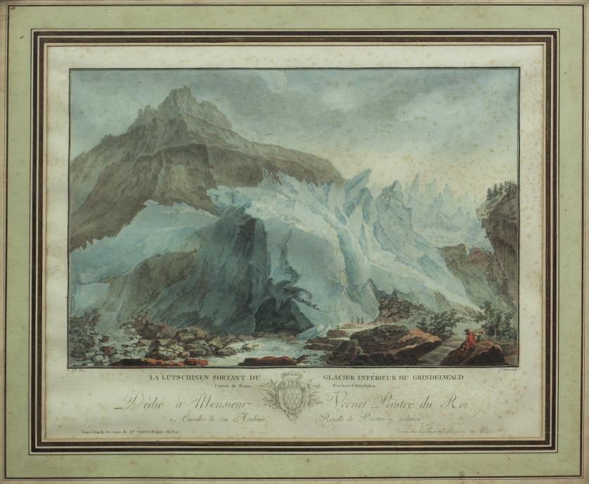 JEAN- FRANÇOIS JANINET (1752- 1814) según CASPAR WOLFF, JEA