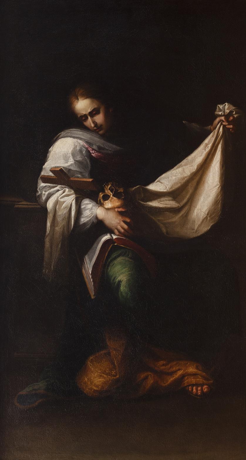 SEBASTIÁN LLANOS Y VALDÉS (circa 1605-1677) , SEBASTIÁN LLA
