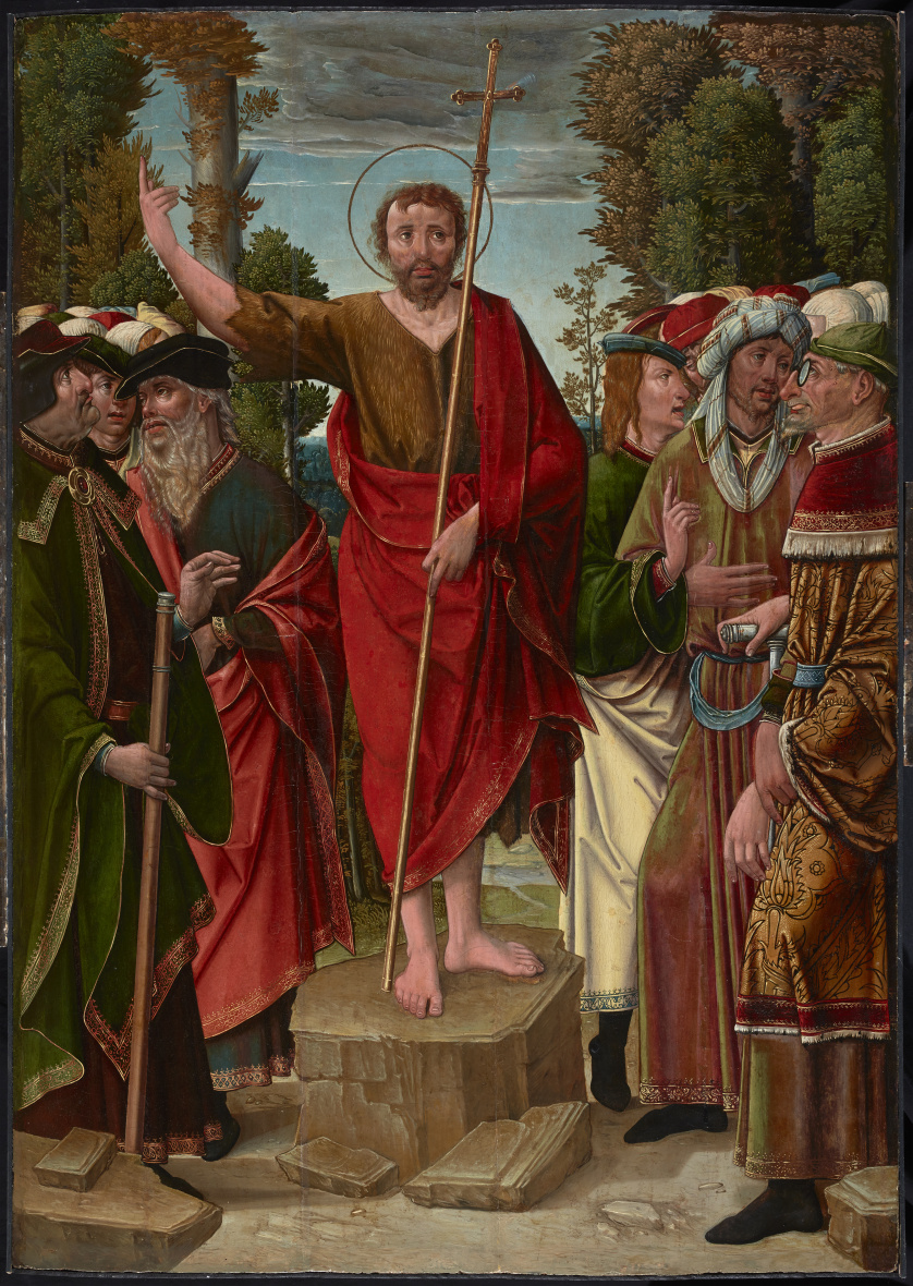 MAESTRO DE LOS SANTOS JUANES (documentado 1520-1545), MAEST