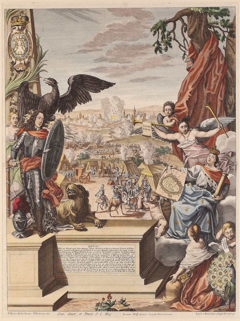 JOSEPH MONTEALEGRE (1702-1725) PAUL DECKER (1685- 1742)En