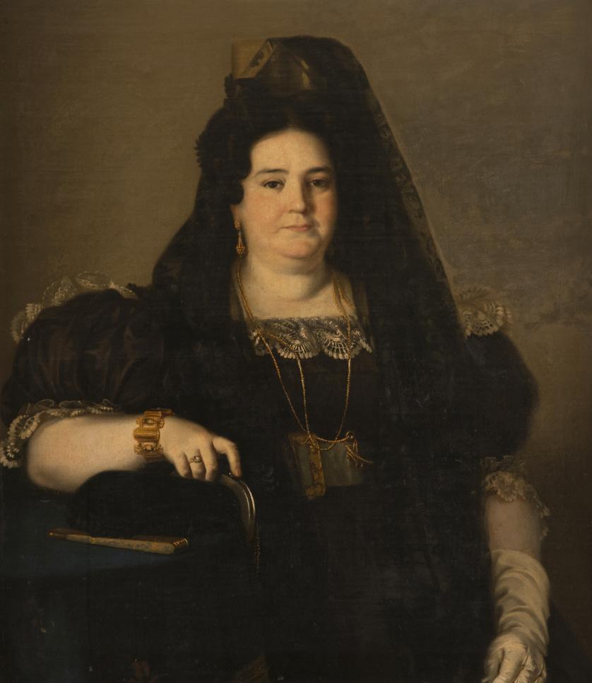 JOAQUÍN MANUEL FERNÁNDEZ CRUZADO (Cádiz, 1781-1856)Retrat