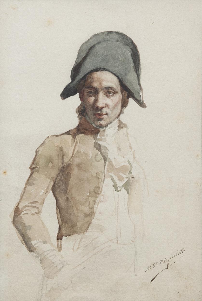 """MANUEL GARCÍA """"HISPALETO"""" (Sevilla, 1836 - Madrid, 1898, MA"""