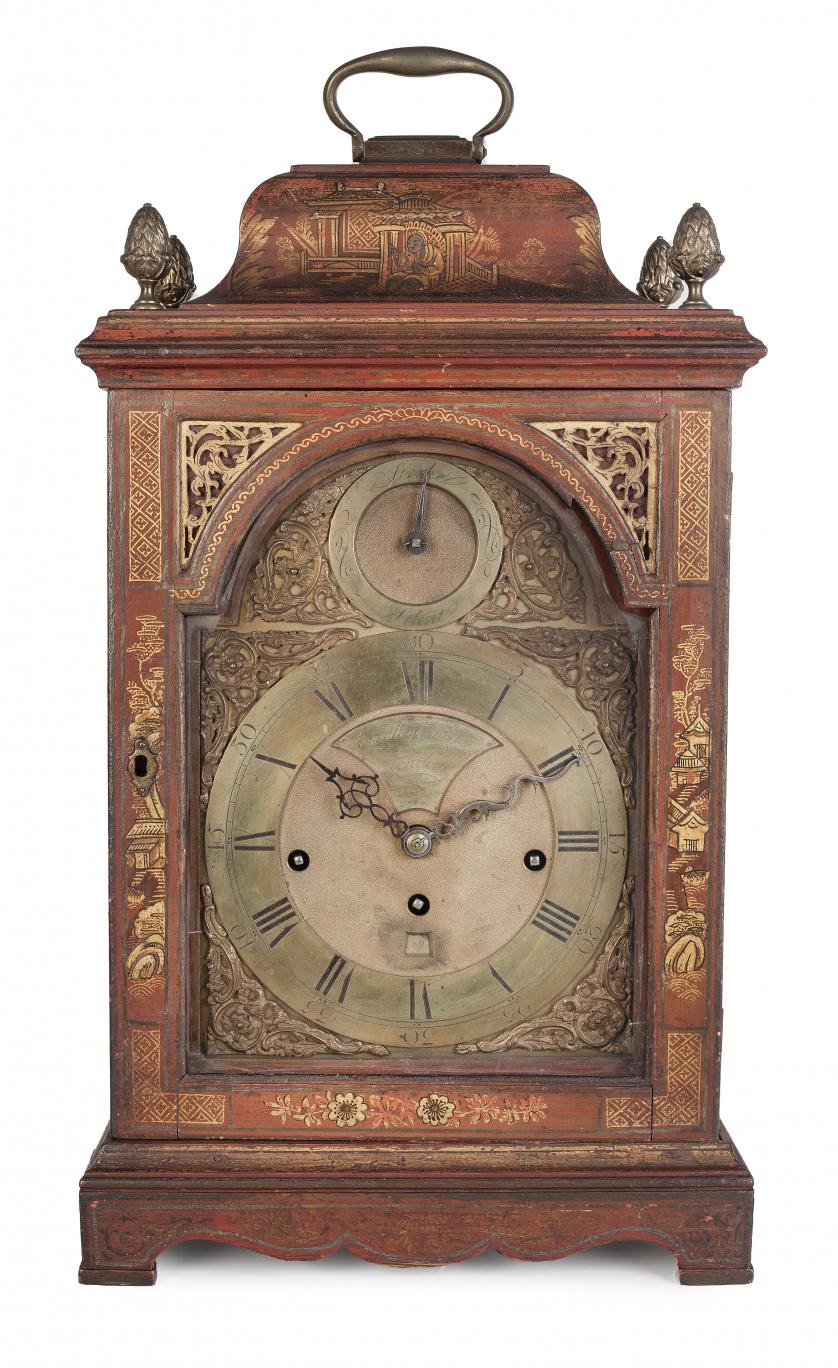 Eardley Norton, (1728-1792).Reloj Bracket Jorge III de ma