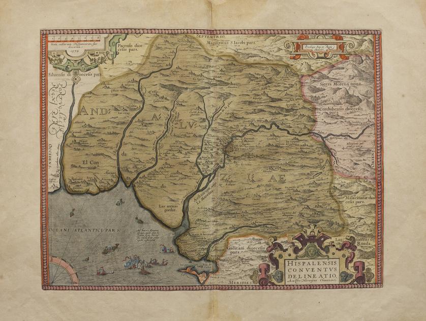 ABRAHAM ORTELIUS (1527-1598) AUCTORE HIERONŸMO CHIAVES (152