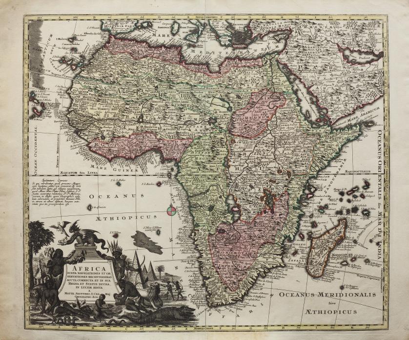 MATTHAUS SEUTTER (1678- 1757)África