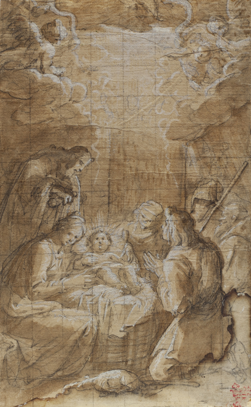 VICENTE CARDUCHO (Florencia, h. 1576 - Madrid, 1638)Adora