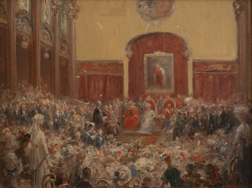 JULIO BORRELL PLA (Barcelona, 1877-1957)Recepción