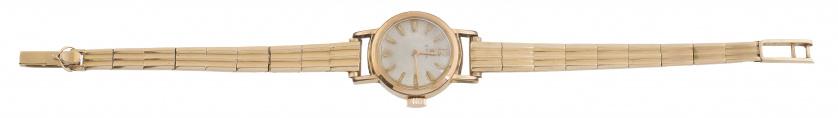 Reloj Cyma para señora años 50 en oro