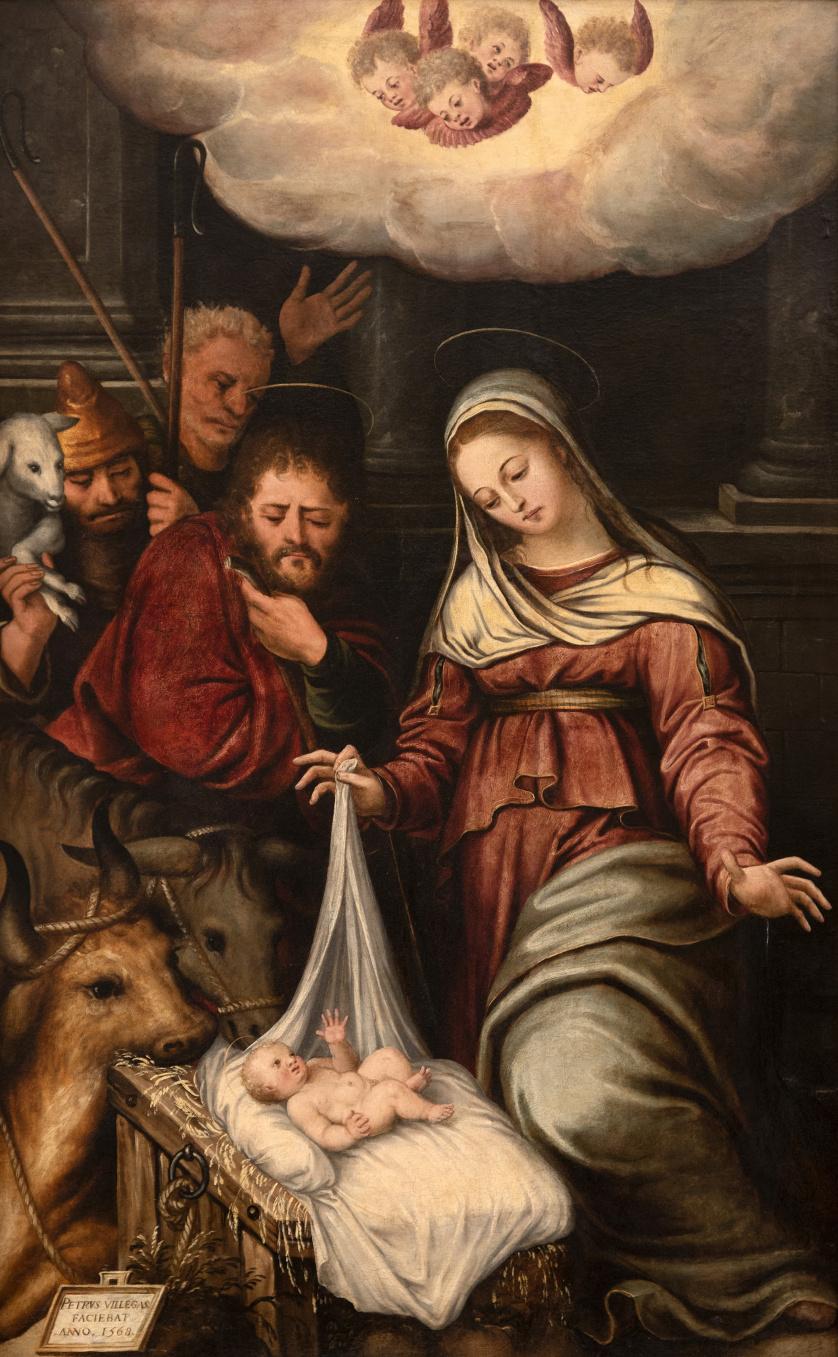 PEDRO DE VILLEGAS MARMOLEJO (Sevilla, 1519-1596)Natividad